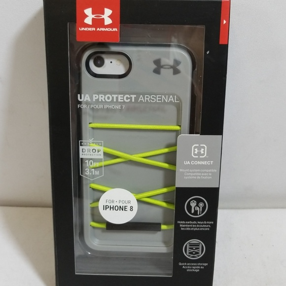 separation shoes 01646 5d39a NWB Under Armour UA Protect Arsenal iPhone 7/8 NWT
